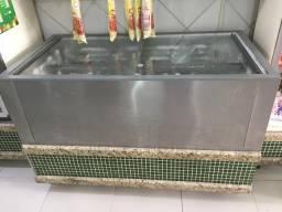 Freezer de inox