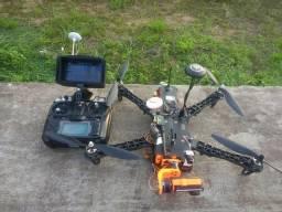 Drone completo - TBS Discovery* todos os acessórios