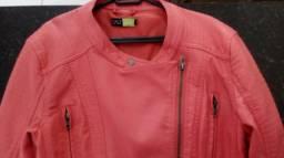 Jaqueta de Couro Sintético (M)