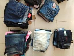 Lote de roupas - calças