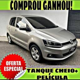 TANQUE CHEIO SO NA EMPORIUM CAR!!! FOX 1.6 CONFORTLINE ANO 2018 COM MIL DE ENTRADA