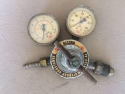 Regulador de oxigênio, argônio, mistura pra mig