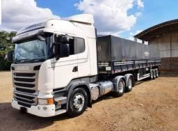 Conjunto Scania R-440 6X4 Ano 2015/16