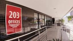 Alugo Sala 203 OFFICES 49,51 m² 1 Recepção 2 Salas 1 Lavabo 1 Vaga FAROL