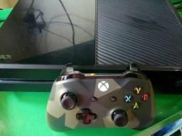 Xbox one + controle militar
