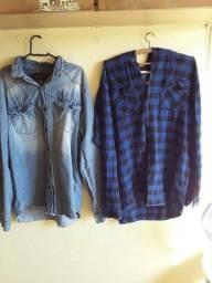 Vendo duas camisas pelo preço de uma gg