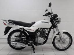 Suzuki gs 120 2014 branca - 2014
