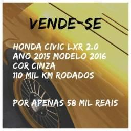 Honda civic lxr 2.0 - 2016
