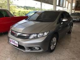 Honda Civic 1.8 LXS Automático Flex Cinza - 2014