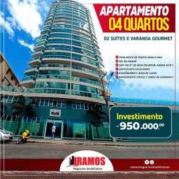 Lindíssimo apartamento de 4 qts com 2 suítes na Praia do Morro, em Guarapari!