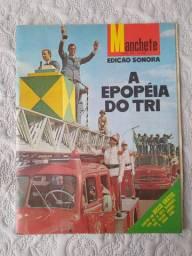 Revista Manchete A Epopéia do Tri