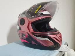 capacete feminino evo g8 novo  n58