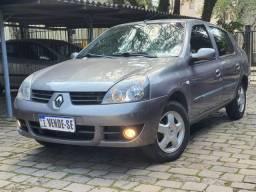 Clio Sedan Privilege 1.0 Flex 2007 Top de linha!