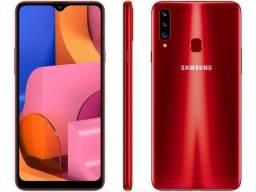 Smartphone Samsung Galaxy A10s 32GB Vermelho (Novo)