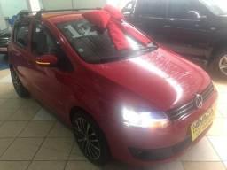 Volkswagen Fox 2012 1.0 Flex Gii Menos Ar Vermelho Estudo Troca e Financio