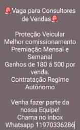Consultores de Vendas/PAP