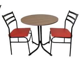 Título do anúncio: Mesas e cadeiras para bares,restaurantes,sorveterias,refeitorios ,buffet- de fabrica