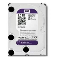 Disco rígido interno Western Digital WD Purple Wd20Purx 2Tb roxo