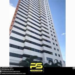 Apartamento com 3 dormitórios à venda, 83 m² por R$ 380.000 - Aeroclube - João Pessoa/PB
