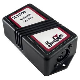Interface Usb Dmx - Sua Mesa De Iluminação Pelo Pc - Sl1000