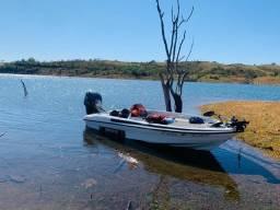 Bass boat / barco / lancha F3 Fibralar