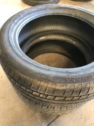 Título do anúncio: Par de pneu Pirelli P7 16 seminovo