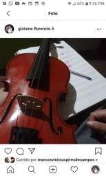 Violino 3/4 novo + estojo com breu(Frete grátis)