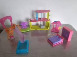 Título do anúncio: Kit Casa Boneca Polly