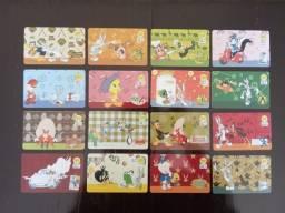 Título do anúncio: 16 Cartões Telefônicos - Série Completa - Looney Tunes B