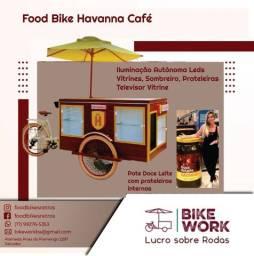 Fabricamos food bikes e carrinhos gourmet