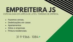 Empreiteira JS especializada em serviços