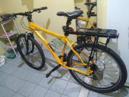 Bike toda em alumínio