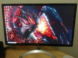 "Título do anúncio: Monitor LG 27"" 4K"