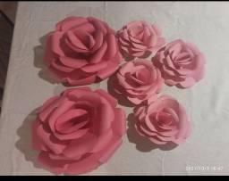Título do anúncio: Flores de papel