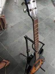 Título do anúncio: Guitarra  les pool cort cr50 995.00parcelo cartão