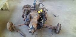 Motor e caixa de fusca