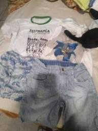 Título do anúncio: Lote de roupas pra brecho bebe adulto  infantil  mais de 200 peças