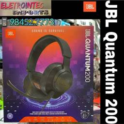 Fone gamer JBL Quantum 200