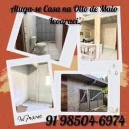 Aluga-se uma casa pequena e aconchegante em Icoaraci, na rua 8 de maio, alameda Ferreira,