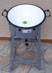 Título do anúncio: Fritadeira de tacho a gás alta pressão Nova
