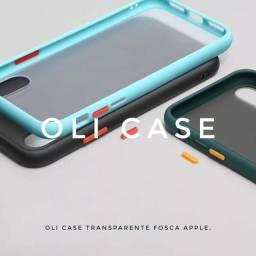 Capa  transparente Premium Apple.   Case oli case