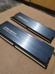 Título do anúncio: Memória RAM ddr4 2x8gb 2666 mhz