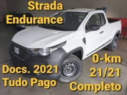 Strada Endurance Cs 21/21 Branca 0-km Completa(CAB.PLUS)