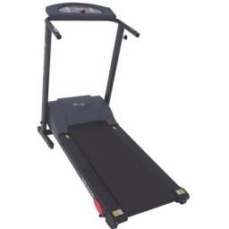 (USADA) Esteira Eletrônica Dream Fitness DR 2110 Dobrável Bivolt Vel Máx 13 km/h - Prata