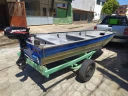 Título do anúncio: Vendo conjunto completo e leve para pescarias e passeios