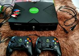 Título do anúncio:  Console Xbox clássico