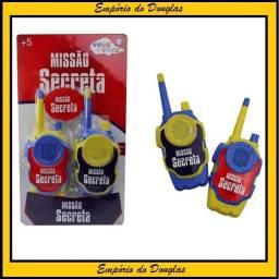 Brinquedo Radio Walkie Talkie a Pilha (entrega imediata!!!)