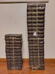 Livro História Universal por Césare Cantú- Coleção Completa Usada (32 Volumes)