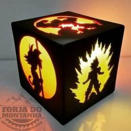 Luminária Dragon Ball - Gamer - Xbox - Ps4