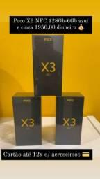 Xiaomi Poco X3 NFC 128Gb/6Gb e 64Gb/6Gb lacrados + garantia
